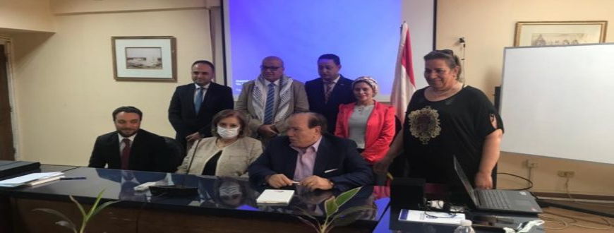 Theba Educational Institutions sign a cooperation protocol with the Embassy of Palestine in Cairo