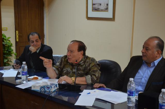 """Details of the second preparatory meeting for Dr. Seddik Afifi's initiative """"Dar Al Salam without Illiteracy"""" .. Photos"""